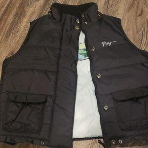Zip up Roxy puff vest